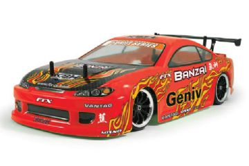 FTX5529 FTX Banzai 1/10th Scale 4WD RTR Brushed Electric Street Drift Car